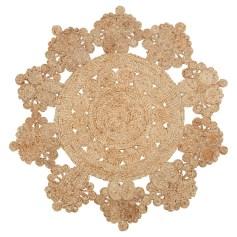 bloemvormige vloerkleden