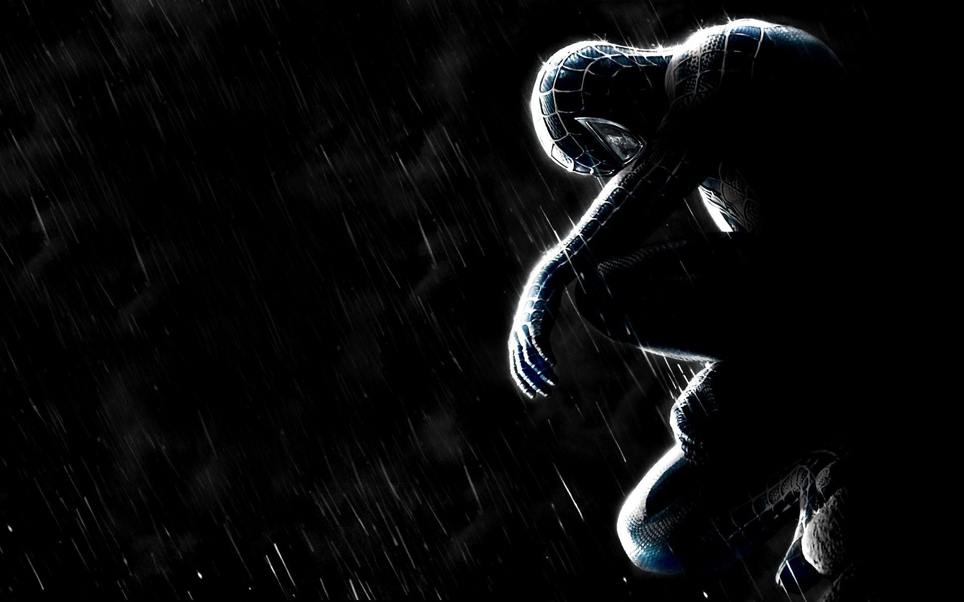 black spiderman s wallpapers