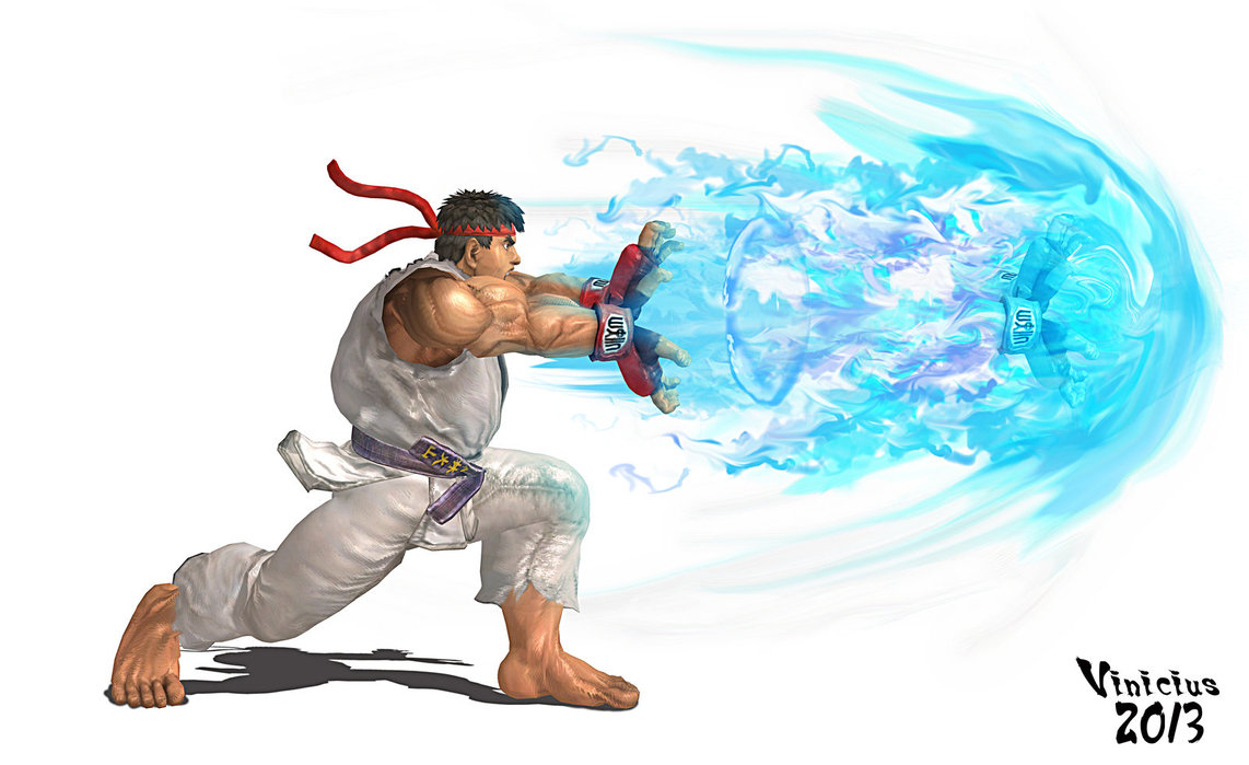 Street Fighter Ryu Hadouken Wallpapers Hd  Gaming Hd