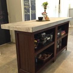 Butcher Block Top Kitchen Island Home Depot Glass Tile Backsplash Diy From Bookcases | Jlm Designs