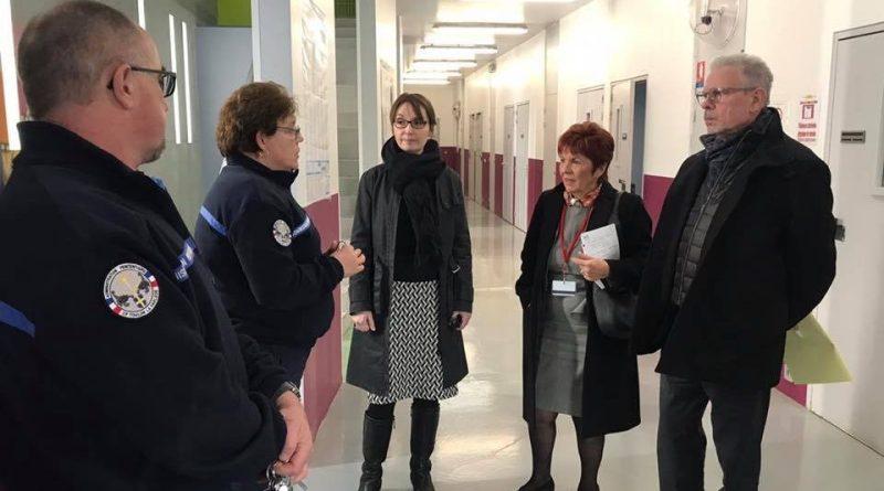 Visite de centre pénitentiaire de Toulon-La Farlède