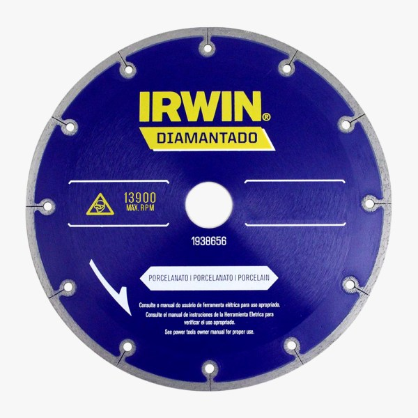 Disco Diamantado porcelanato Irwin