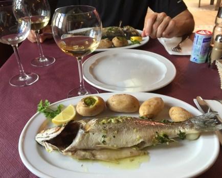 ~ delicious meal at La Casa Del Volcan ~