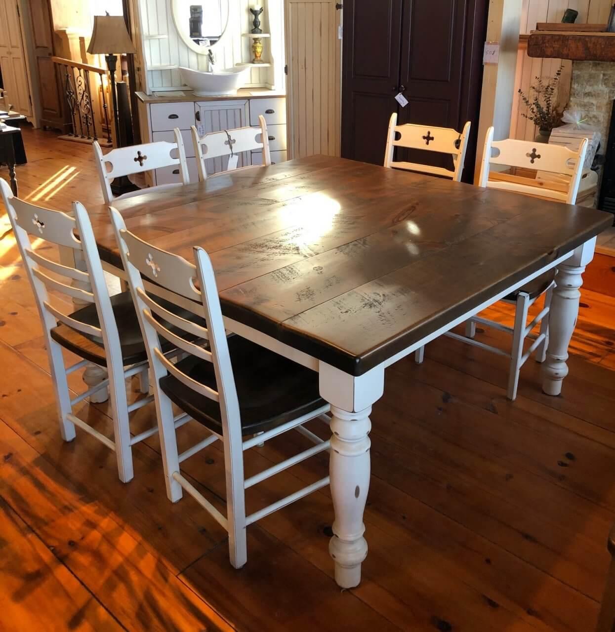 tables de cuisine jlo centre de pin