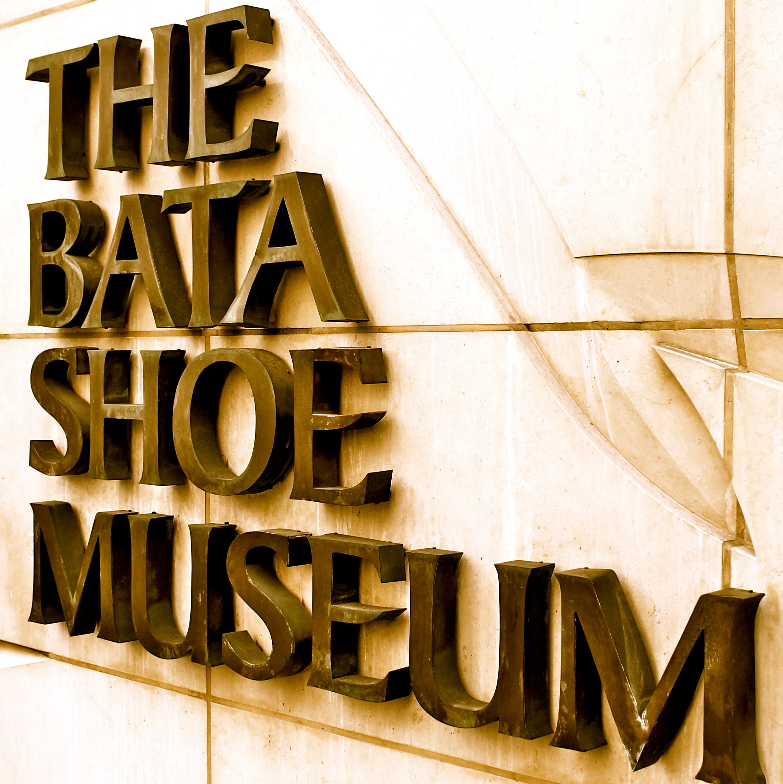 Bata Shoe Museum A collection of shoes from over 4500