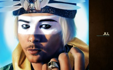 """""""Luke Steele"""" from the band Empire of the Sun"""