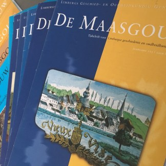 Tijdschrift De Maasgouw