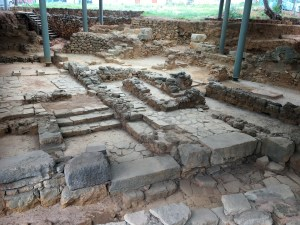 Archeologische vondsten midden in de stad.