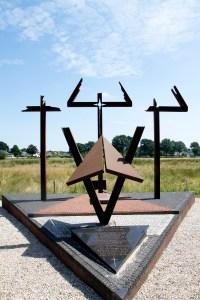 Ter nagedachtenis aan de Tweede Wereldoorlog.