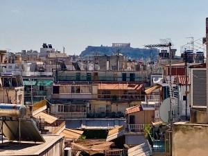 Uitzicht in Athene