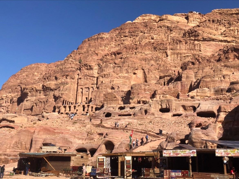 Petra is enorm groot