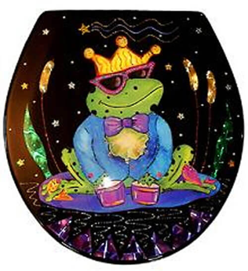 Frog Prince Toilet Seat Elongated Free Shipping Today