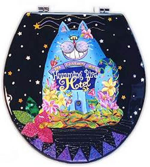 Hotel Cat Toilet Seat Elongated Free Shipping Today