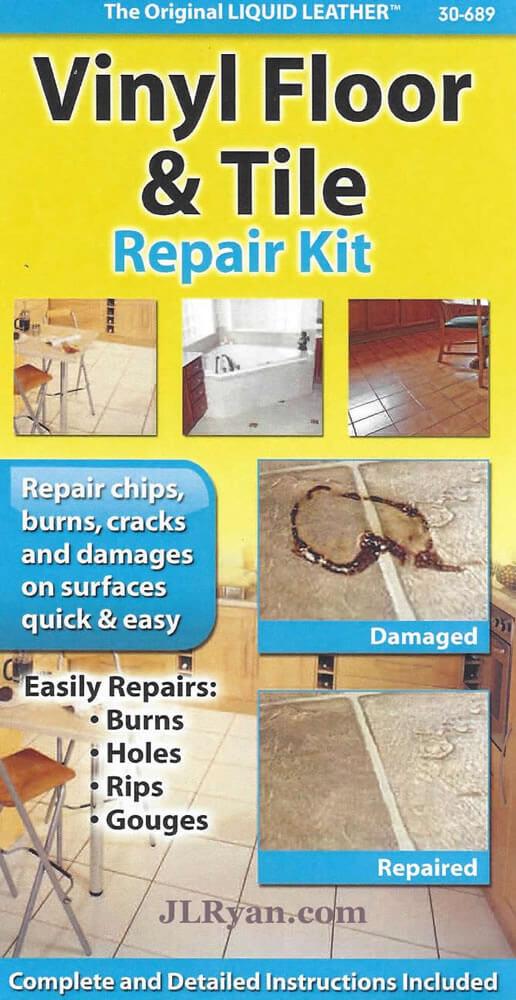 Liquid Leather Vinyl Floor Tile Repair Kit Jl Ryan