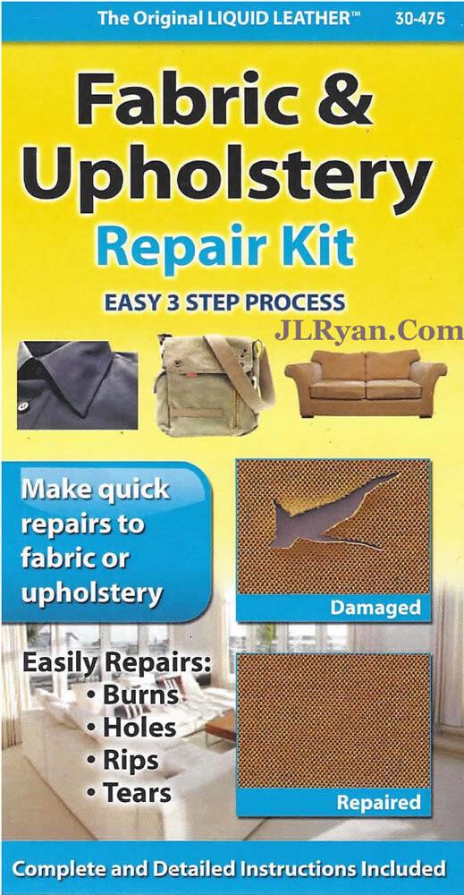 Liquid Leather Fabric Upholstery Repair Kit Jl Ryan