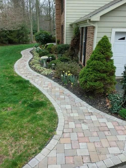 paver walkways raise