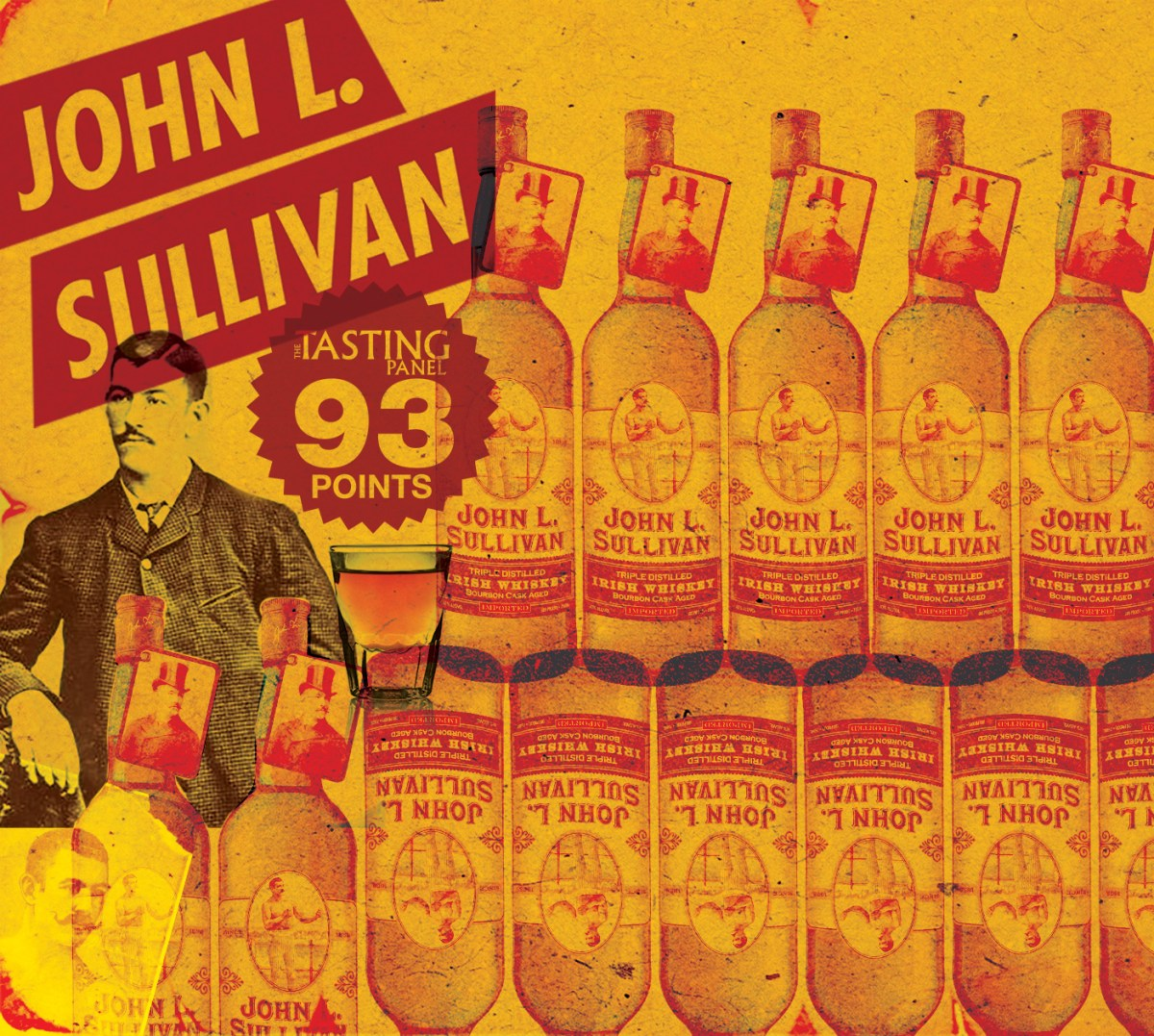 John L  Sullivan Irish Whiskey – Take Your Best Shot
