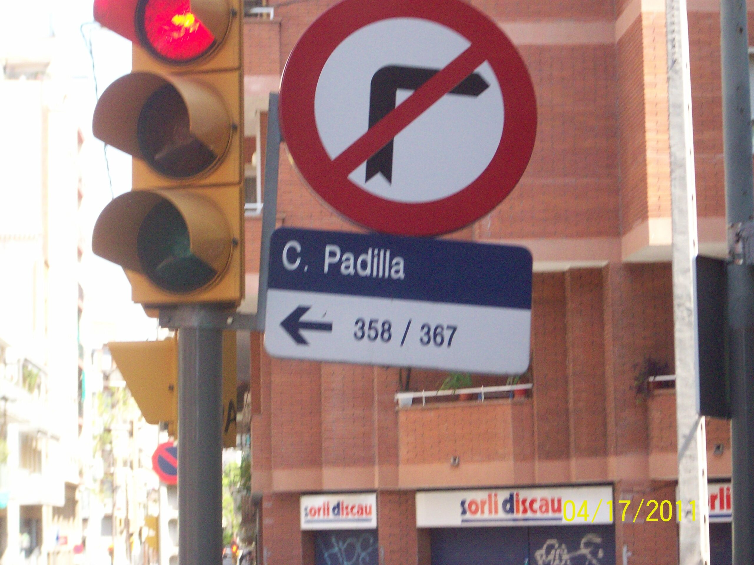 Calle Padilla Spain