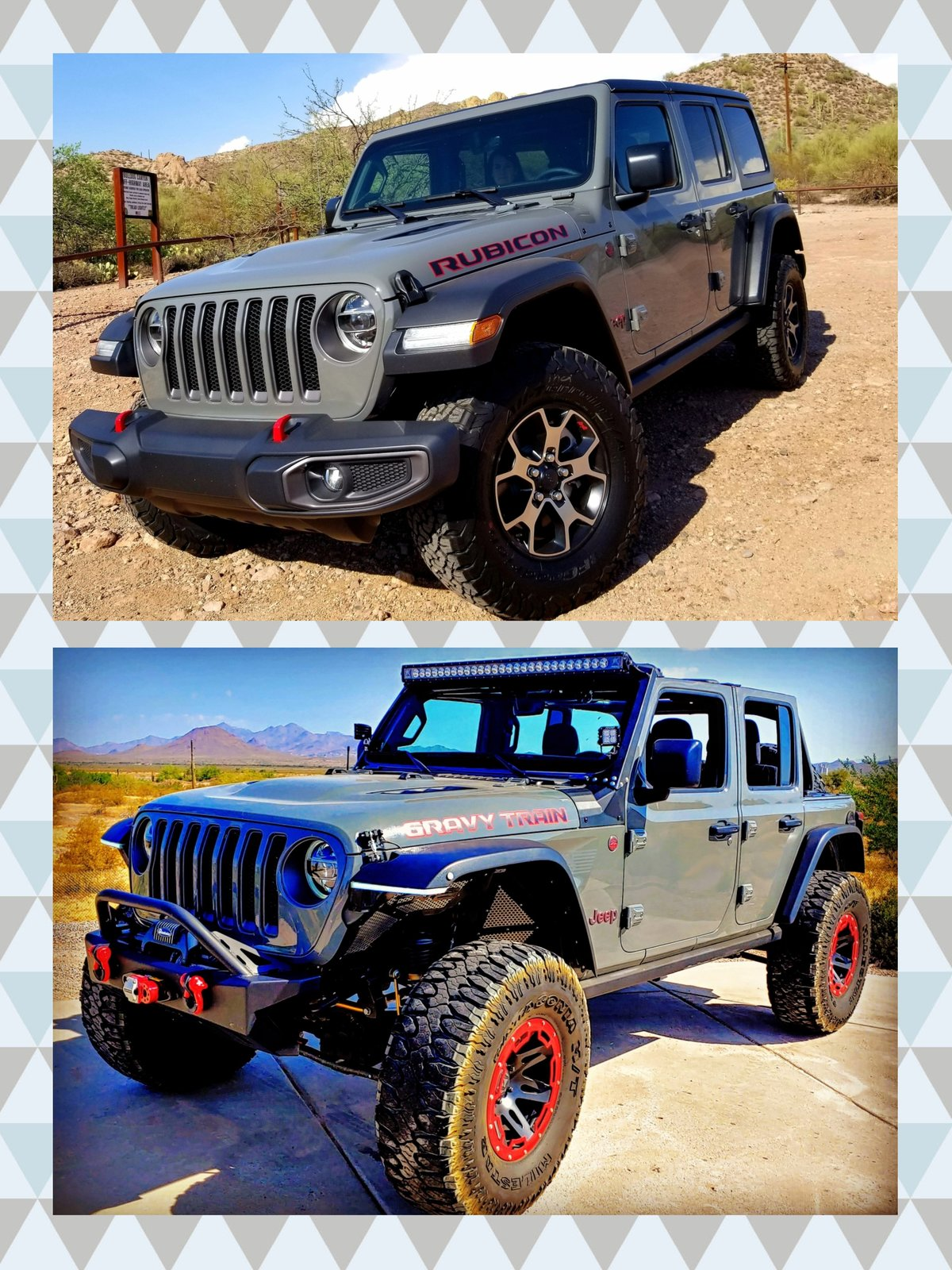Lift Kit Before And After : before, after, PICS!, Before, After, Pics!, 2018+, Wrangler, Forums, Rubicon,, Sahara,, Sport,, Unlimited, JLwranglerforums.com