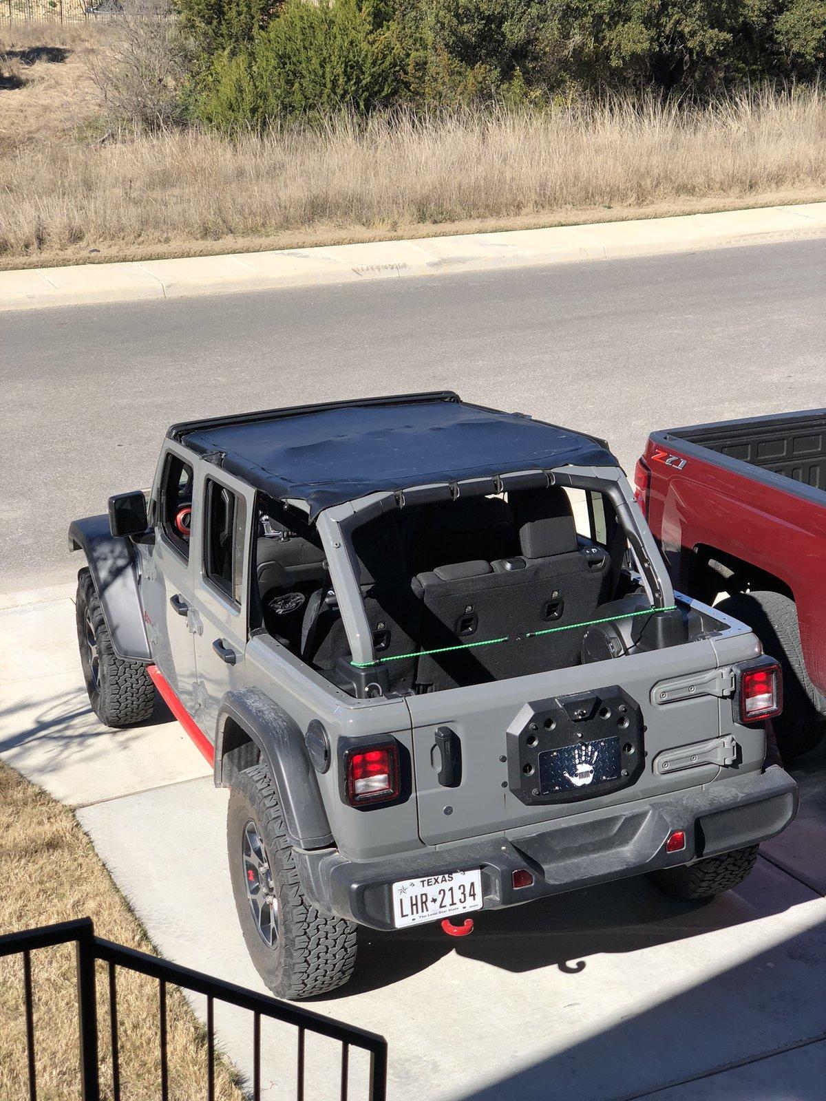 Jeep Summer Tops : summer, Mopar, Bonnet, Waterproof?, 2018+, Wrangler, Forums, Rubicon,, Sahara,, Sport,, Unlimited, JLwranglerforums.com