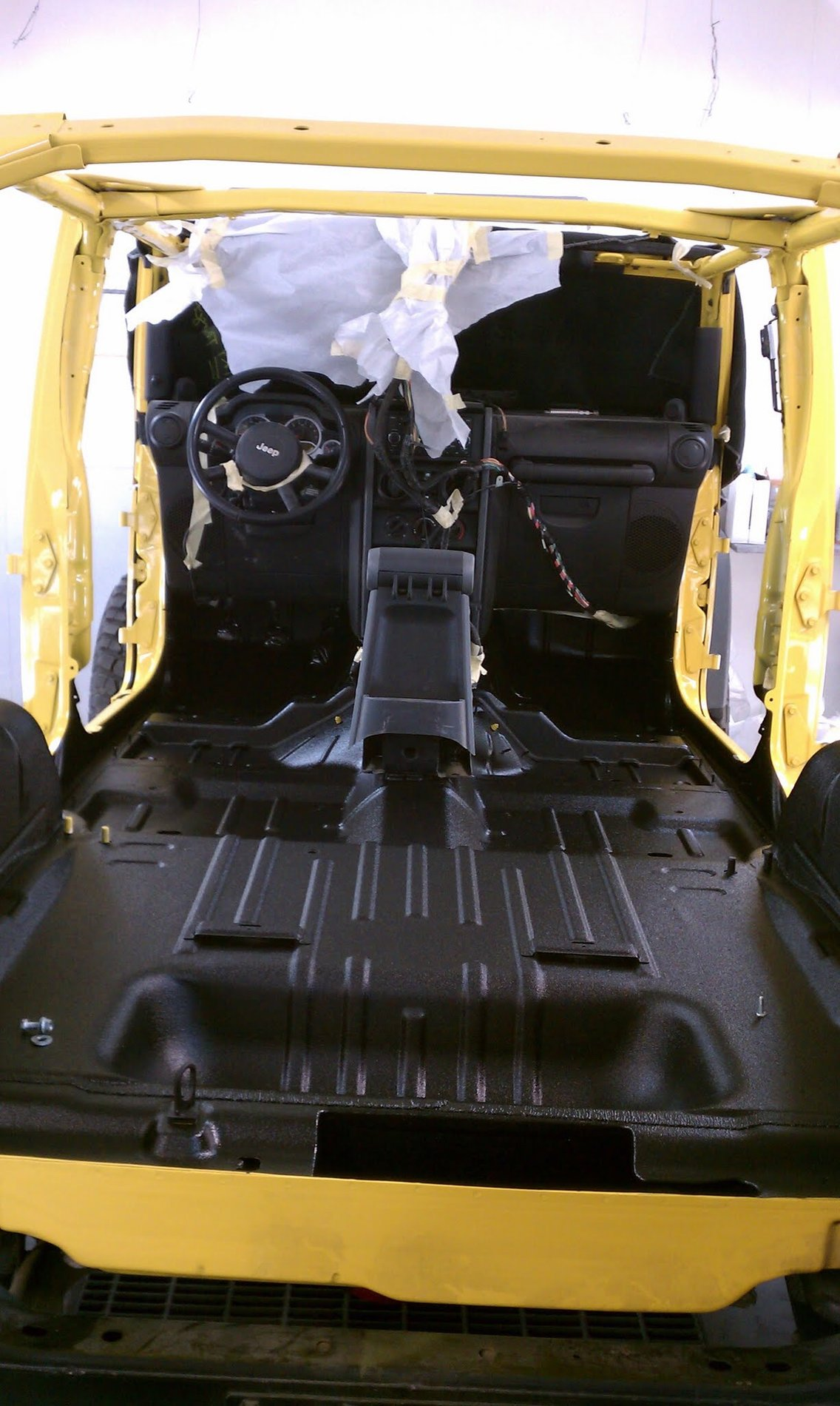 Rhino Liner Interior : rhino, liner, interior, Floor, Carpet, Removal, Interior, Rhino, Spray, Lining, 2018+, Wrangler, Forums, Rubicon,, Sahara,, Sport,, Unlimited, JLwranglerforums.com