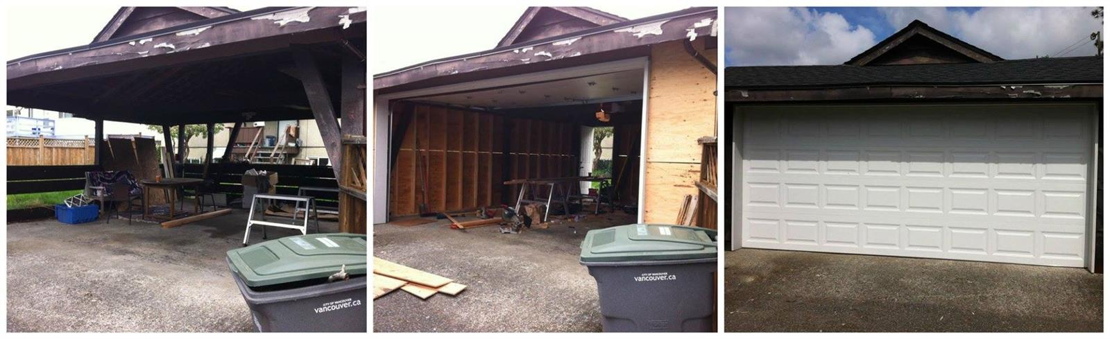 Convert Carport Into Garage