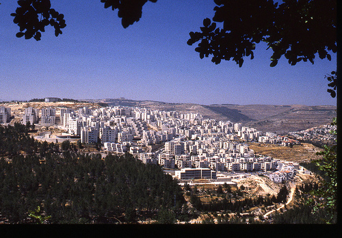 The Americans should stop Israel building settlements like this on the West Bank.