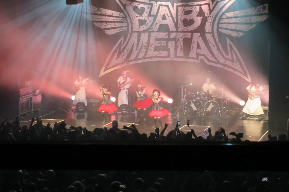 BABYMETAL Concert in Toronto. (1/4)