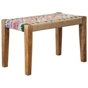 Target- Threshold™ Woven Jute Bench - Multicolored