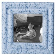 Target- Simply Shabby Chic Resin Frame - Blue 4X4