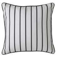 "Target- Room Essentials® Striped Toss Pillow - Black/White (18x18"")"