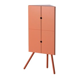 IKEA PS 2014 Corner cabinet, pink, $99.00, Article Number: 602.606.98