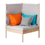 IKEA PS 2014 Corner easy chair with cushions, $369.00, Article Number: 490.235.28