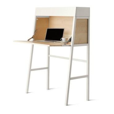 IKEA PS 2014 Secretary, white, birch veneer, $189.00, Article Number: 802.607.01