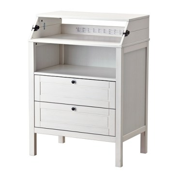 SUNDVIK Changing table/chest, white, $149.00, Article Number: 802.567.56