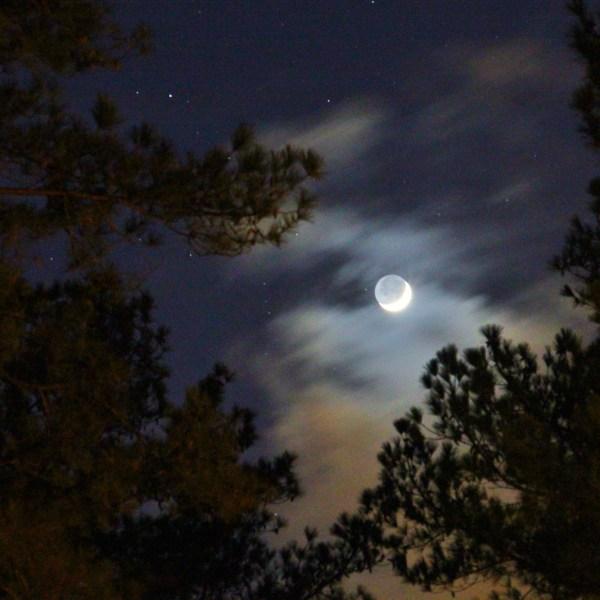 Winter Solstice Moon