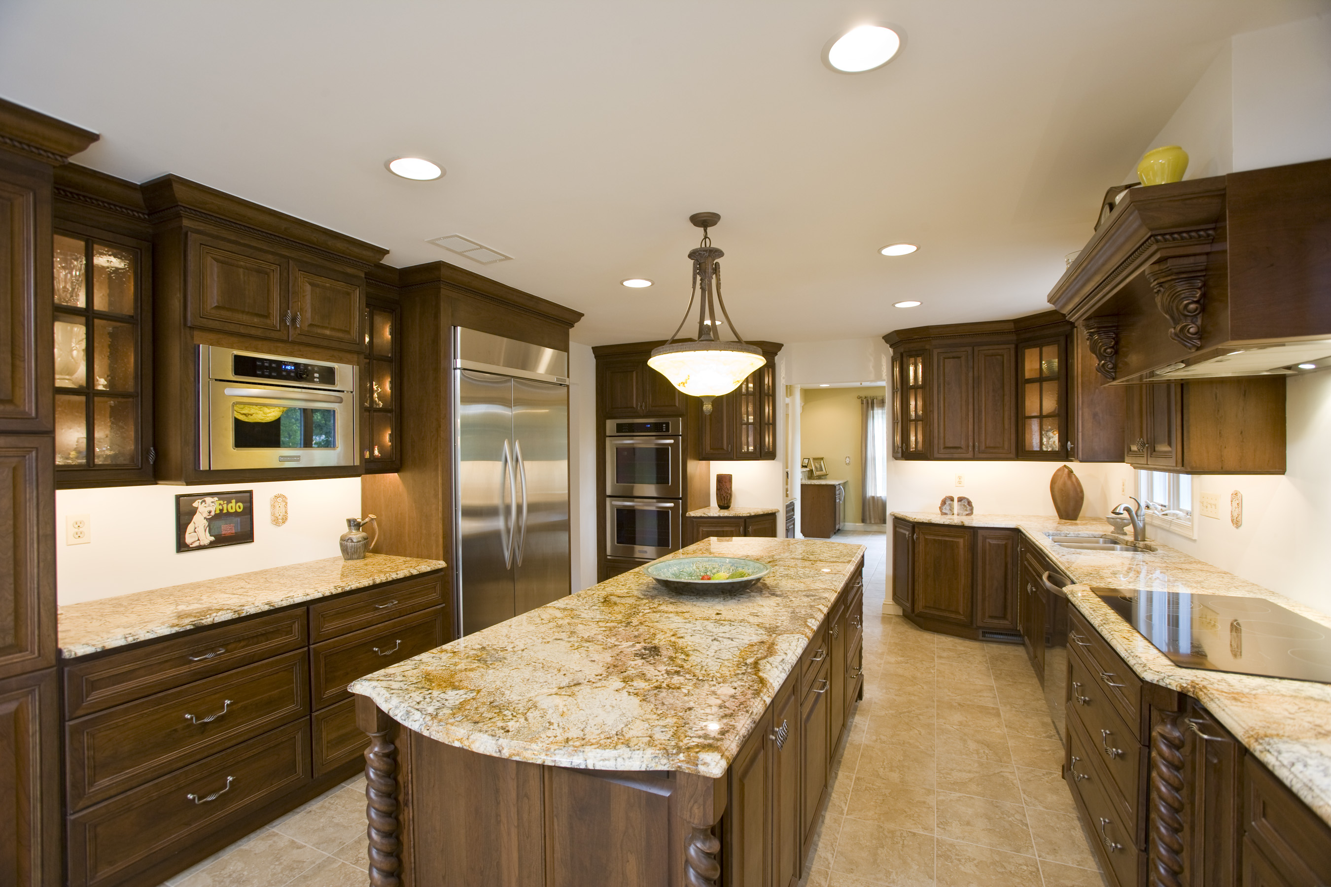 granite kitchen countertops pictures cabinets for less reviews installation jmarvinhandyman