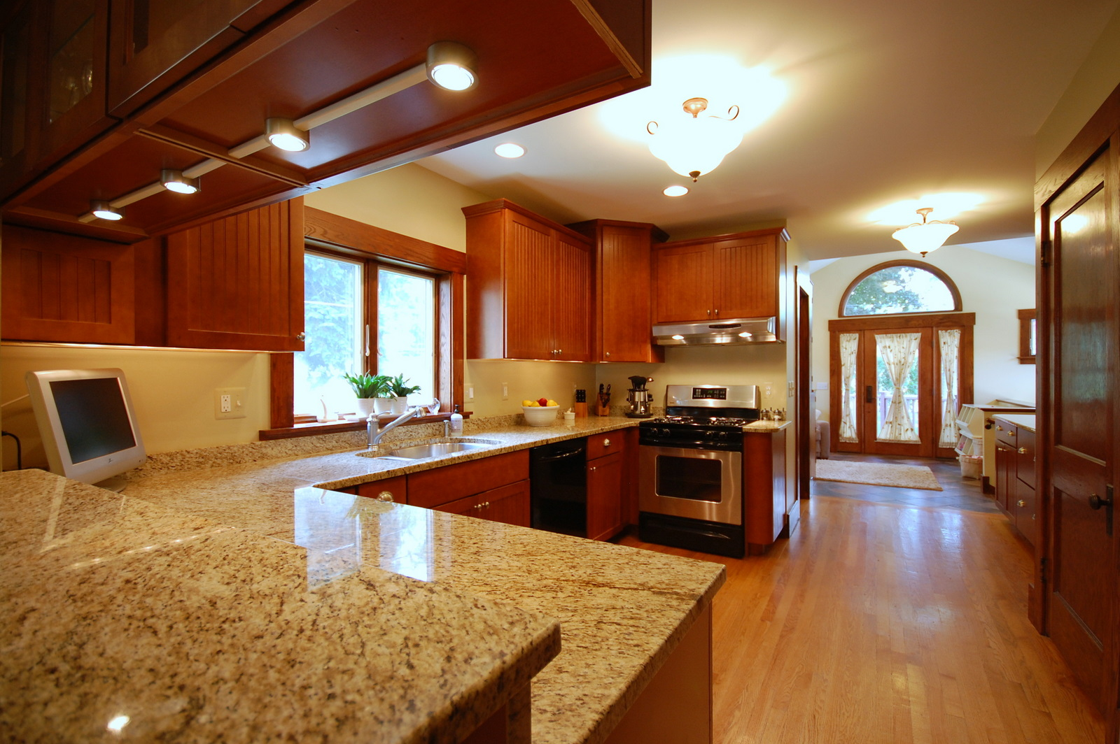 kitchen granite ideas faucet replacement installation jmarvinhandyman