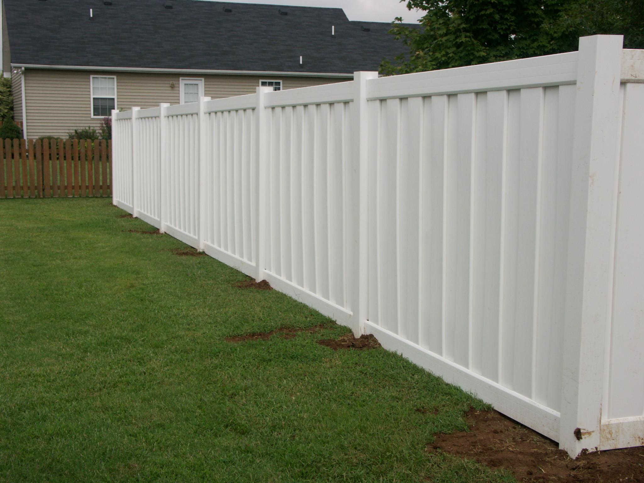 Wood Fences  Jmarvinhandyman