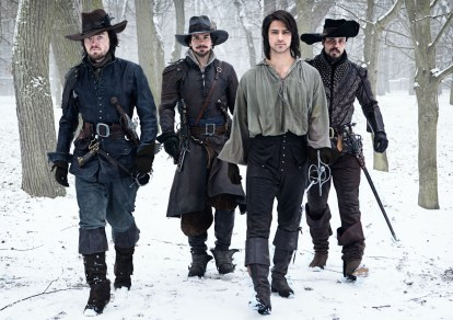 BBC One Three Musketeer promo