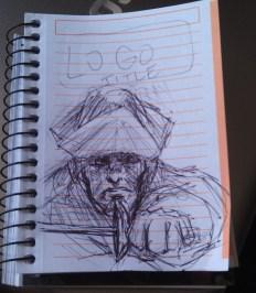 Jake Hawking sketch