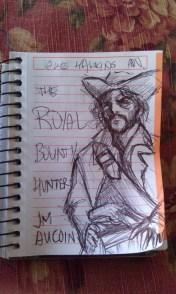 The Royal Bounty Hunter draft cover