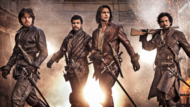 BBC The Musketeers Action Shot