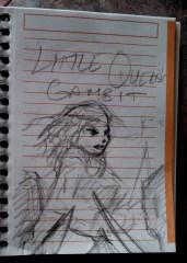 Little Queen's Gambit sketch