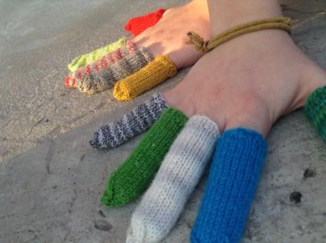 Gloveless Fingers.