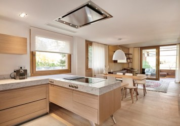 cocina comedor abierto concepto interiorismo espacios aquitectura diseno portfolio salon