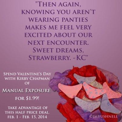 Valetine's Day Manual Exposure Sale