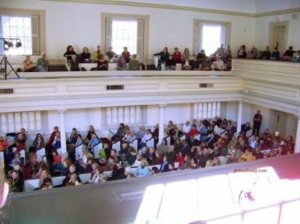 Anita Shreve audience at the Savannah Book Festival
