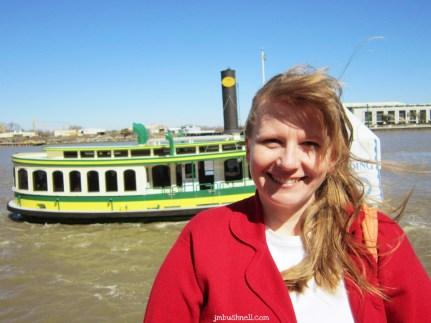 Jeannie on the Savannah River