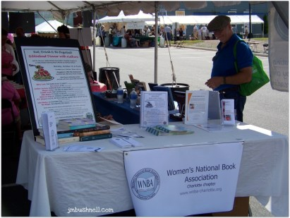 Charlotte WNBA at Bookmarks Festival